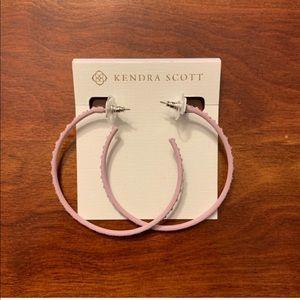 Kendra Scott hoop earrings brand new